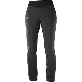 Salomon Lightning Warm Pantaloni Softshell Donna, black